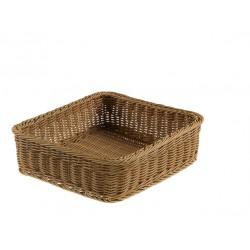 Koszyk do pieczywa, z polipropylenu, kwadratowy, - 1szt. T0564