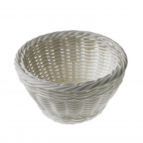 Koszyk do pieczywa, z polipropylenu, okrągły, barwiony - 1szt. T0561