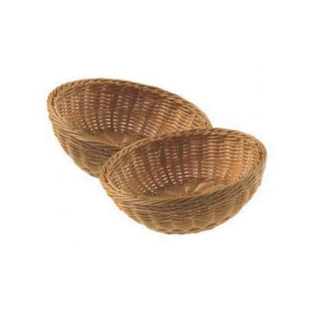 Koszyk do pieczywa, z polipropylenu, okrągły - 1szt. T0529