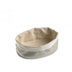 Torebka z tkaniny na pieczywo, dwuwarstwowa - 1szt T0001.P