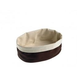 Torebka z tkaniny na pieczywo, dwuwarstwowa, duża - 1szt T0002.R