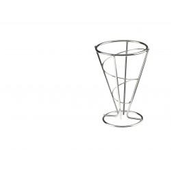 Koszyk na smażone przekąski, spiralny,  z stali nierdzewnej - 1szt, T5426