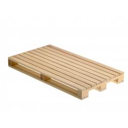Podstawka w kształcie palety, drewniana, do serwowania dań, średnia - 1szt, S0202