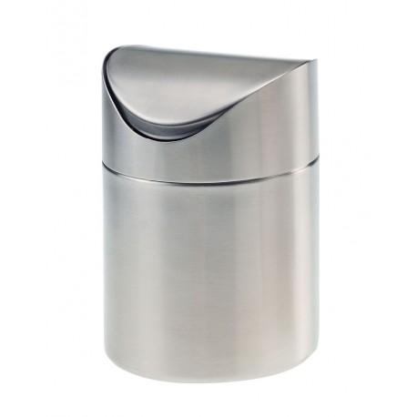 kosz, pojemnik, na odpady przy stoliku gości, z przykrywką, - 1 szt, T5409