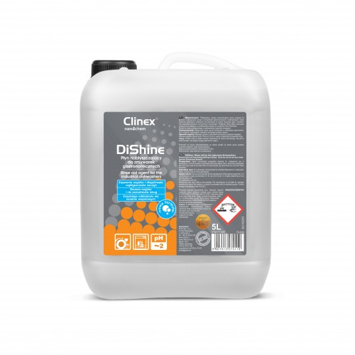 Clinex DiShine nabłyszczacz do zmywarek gastronomicznych  - 1 szt
