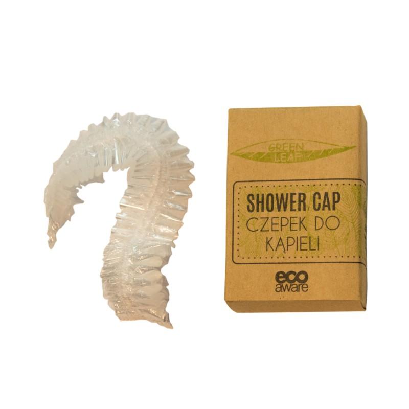Czepek pod prysznic, hotelowy, ekologiczny, jednorazowy, w kartoniku - 100szt