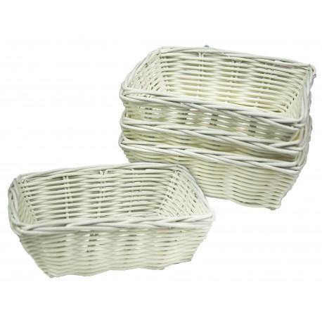 Koszyczek na kosmetyki biały hotelowy 1szt