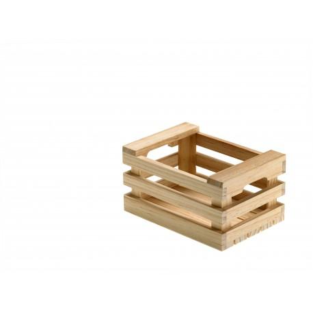 naczynia dla gastronomii   Skrzynka drewniana, do serwowania