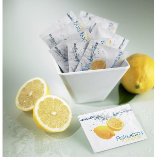Erfrischungstücher Reinigungtücher Zitrone Sachet 500 Stk.