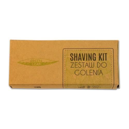 Zestaw do golenia, hotelowy, ekologiczny, jednorazowy, w kartoniku - 100szt