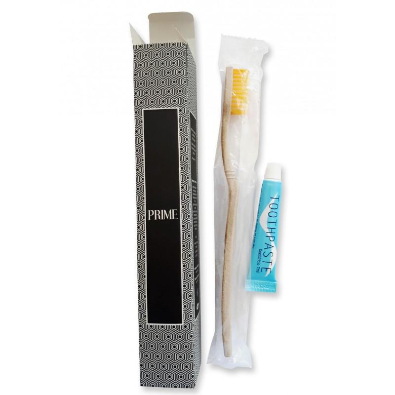 Zestaw do mycia zębów w kartoniku, hotelowy, PRIME, 50szt
