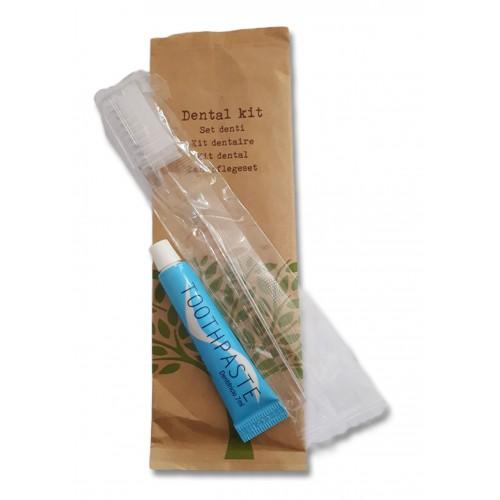 kosmetyki hotelowe | Zestaw do mycia zębów, NATURE, 10szt