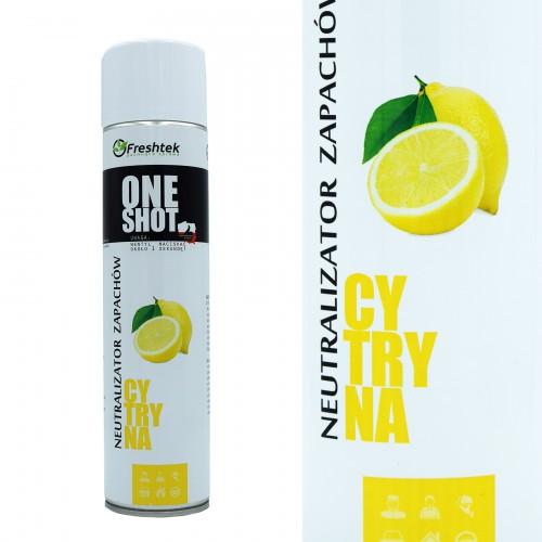 Luftspray für Hotel - Zitrone - 600ml