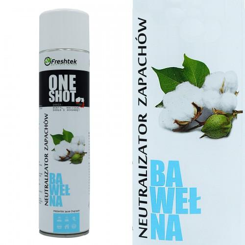 Luftspray für Hotel - Baumwolle - 600ml