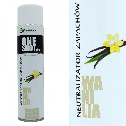 Luftspray für Hotel - Vanille - 600ml