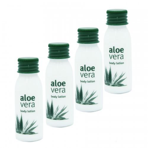 Balsam do ciała 100szt Aloe Vera 30ml hotelowy