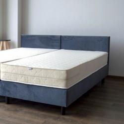 Hotelbett Standard 90x200 cm mit Matratze und Kopfteil