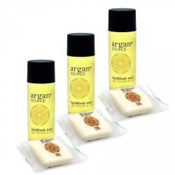 Kosmetyki hotelowe |  Zestaw kosmetyków dla hoteli Argan