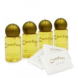 Zestaw kosmetyków Comfort mydełko 500szt + Szampon- żel 300szt