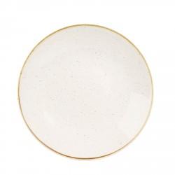 Talerz porcelanowy płaski 28,8 cm Evolve STONECAST BARLEY WHITE