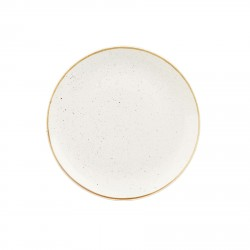 Talerz płaski 26 cm Evolve STONECAST BARLEY WHITE