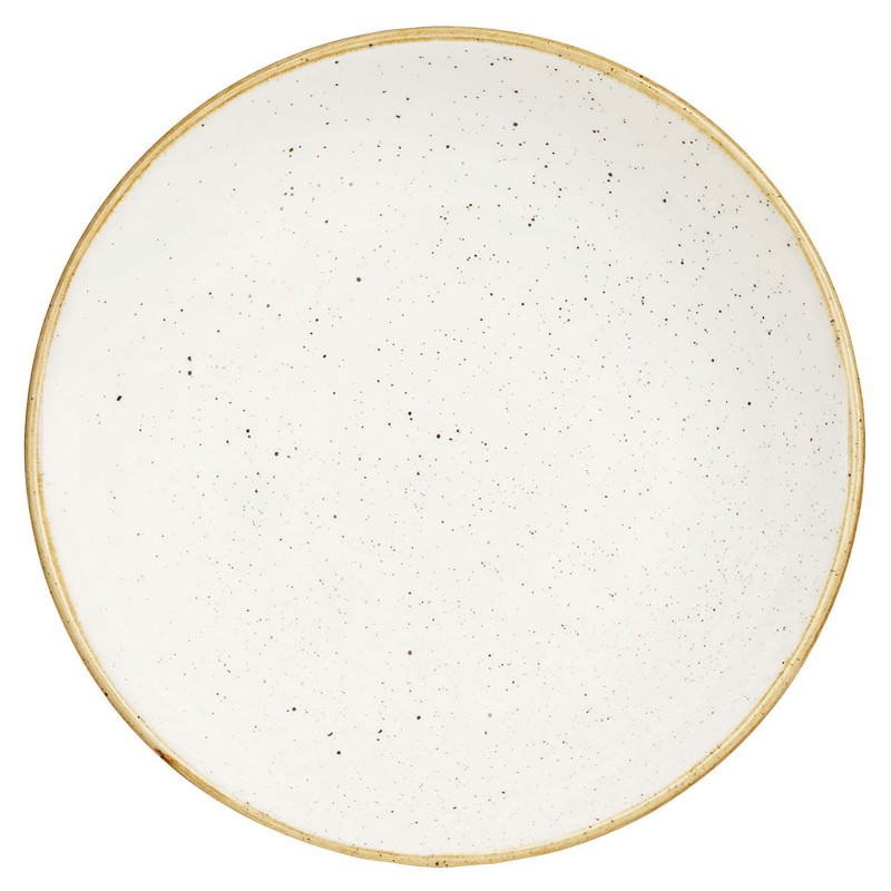 Talerz płaski 32,4 cm Evolve STONECAST BARLEY WHITE