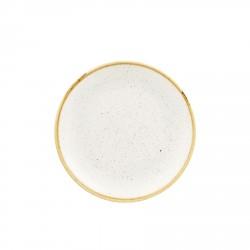 Talerz porcelanowy płaski 16,5 cm Evolve STONECAST BARLEY WHITE