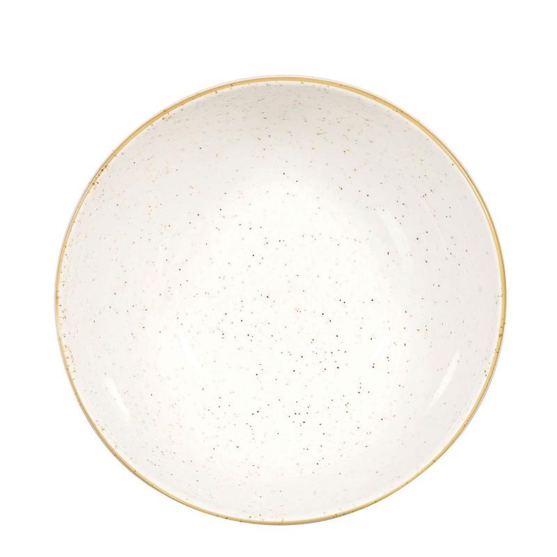 Miska porcelana średnica 18,2 cm Evolve STONECAST BARLEY WHITE