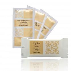 Acanto set kosmetyków mydełko 10g 600 szt  plus szampon żel 10 ml 600 szt