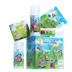 Zestaw hotelowy dla dzieci szampon żel balsam mydło chusteczka 1szt.