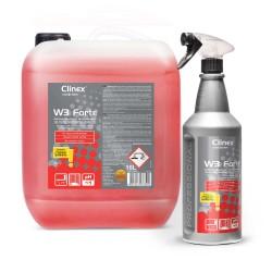 Clinex W3 Forte płyn do czyszczenia urządzeń sanitarnych - 1 szt
