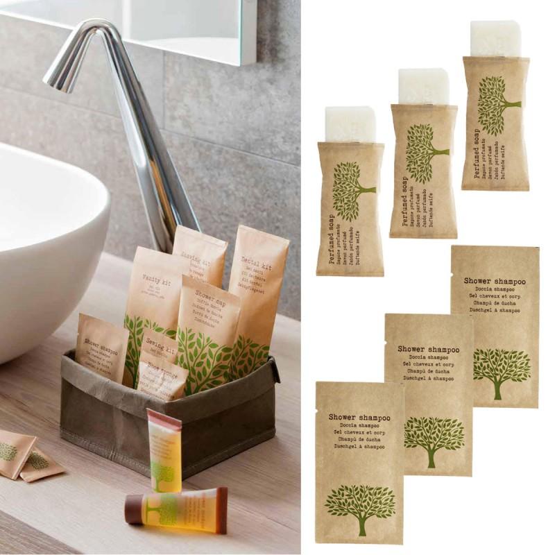 hotelowe.co   Zestaw kosmetyków dla hoteli Nature szampon-żel
