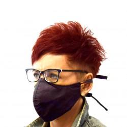 Maska, maseczka ochronna, dwuwarstwowa, dopasowana, wielorazowa,