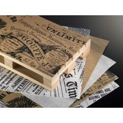 Wyposażenie restauracji Papier pergaminowy, do hotelu, vintage