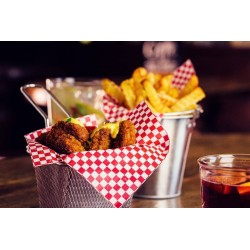 Pergaminpapier Papier für Fritten Pergamentpapier für Restaurant Fast Food  500 Stück Nr. H6240