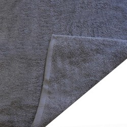 Zestaw dwóch szarych ręczników - Hotelowe Rimini 100% bawełna 500 g/m2