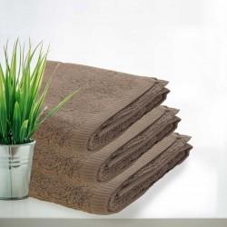 Beżowe Ręczniki Hotelowe Rimini 100% bawełna 500 g/m2