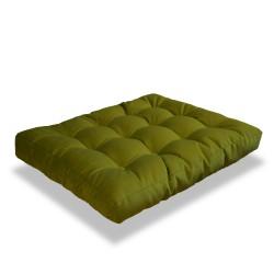 Poduszka pikowana do siedzenia na podłodze wielofunkcyjna, rozmiar 120x60cm