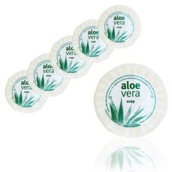 Mydełko plisowane 100szt Aloe Vera 20g hotelowe