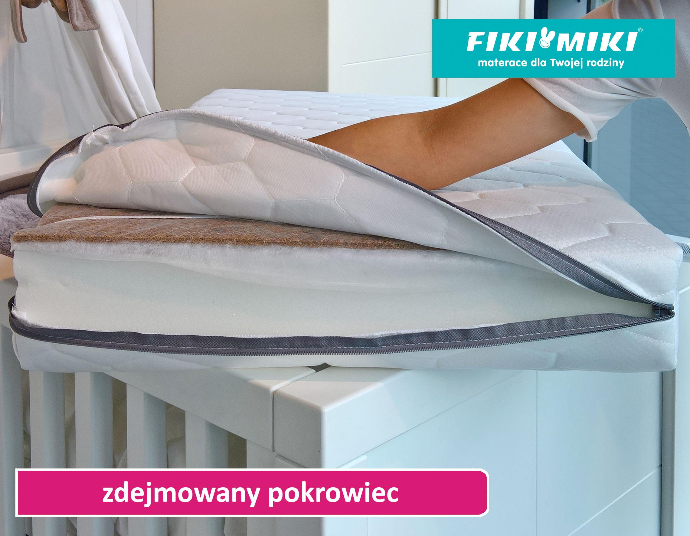 pokrowiec zdejmowany w materacu Comfort-Pur