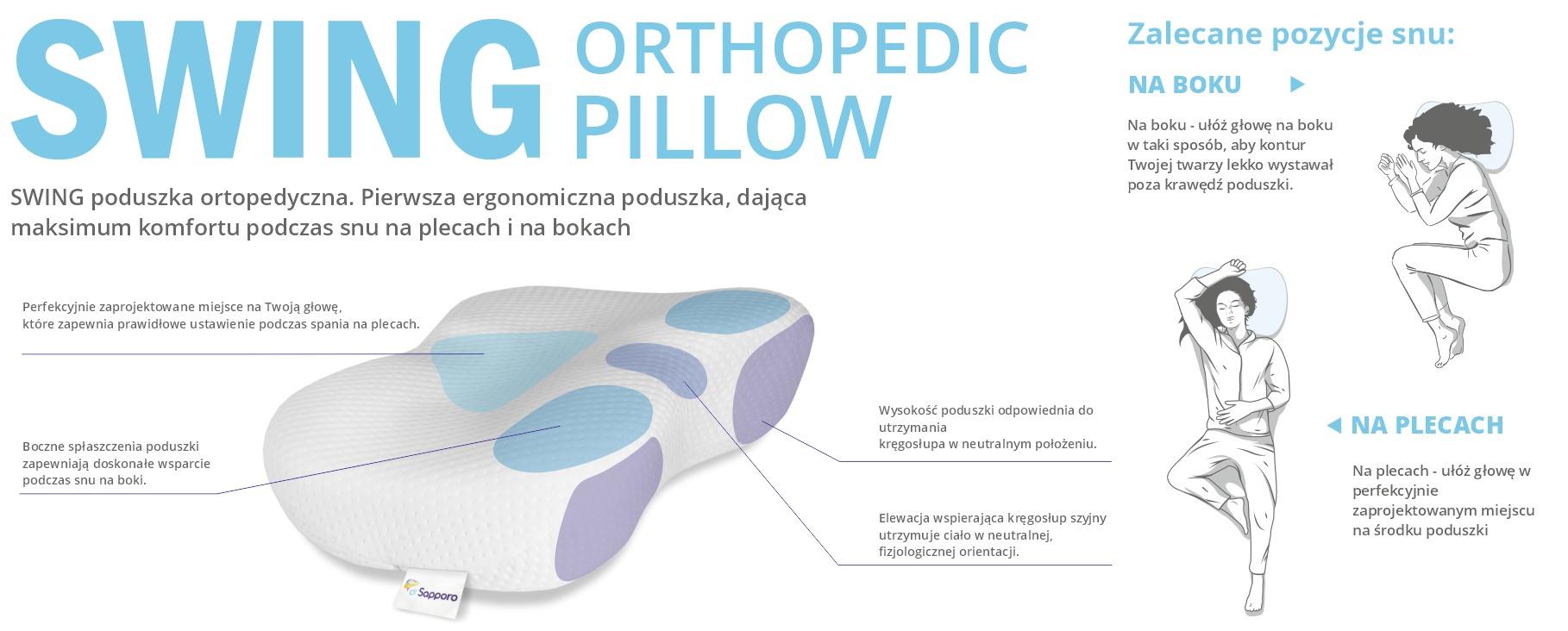 poduszka ortopedyczna swing